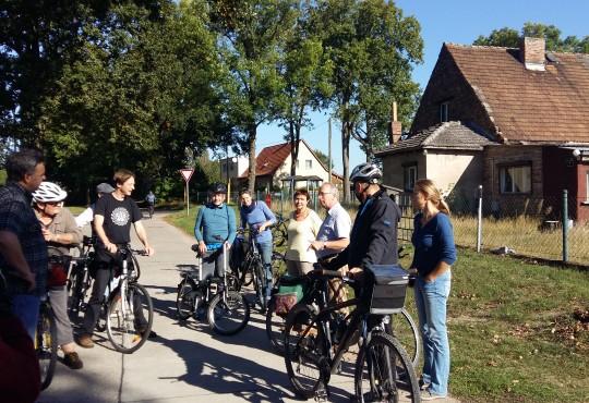 Radtour nach Fredersdorf